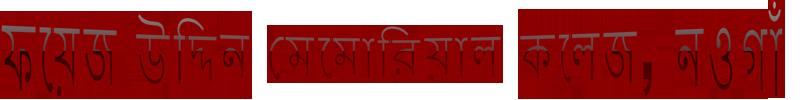 ফয়েজ উদ্দিন মেমোরিয়াল কলেজ